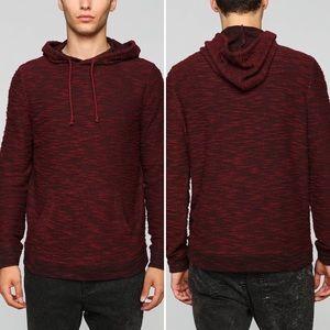UO BDG Marled Hooded Pullover Sweatshirt Sz S